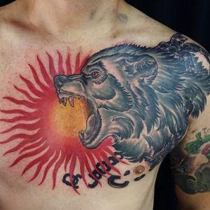 Tattoo by Randy Adam's Tattoo Studio