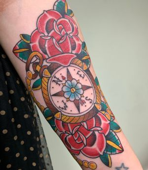 Roses and compass