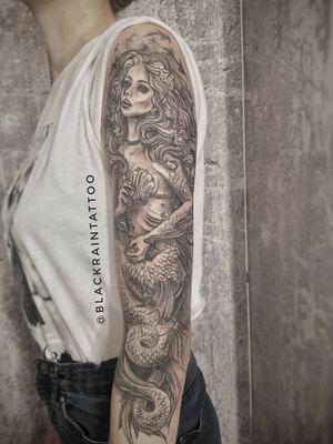 The Mermaid sleeve fragment #mermaid