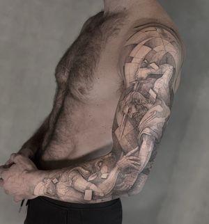 Theseo . . . . Appointments/Citas: anibalbookings@gmail.com . . . . . #fineart #sketch #blackworkershero #inkstinctsubmission #onlyblackart #artesobscurae #blackworktattoos #blackworktattoo #theartoftattoos #dotworkers #tattoodo #onlythedarkest #iblackwork #blackworkerssubmission #blackworker #instasrt #artwork #tattooinkspiration #tattoo #arts #anibal_tattoo #tattooartist #blxink #stabmegod #cdmx #bogota #nyc #miami #toronto