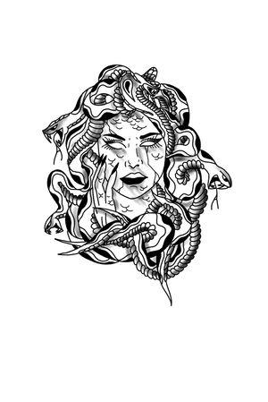 #drawing #tattoo #inked #ink #flashtattoo #tattooflash #paris #barcelona #bcn #paristattoo #sketchtattoo #sketch #tatouage #perso #charactersketch #france #dessin #blackwork #black #paint #bw #tattoo #tattoos #medusa
