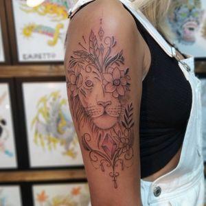 Lion tattoo #lion #verona #italy