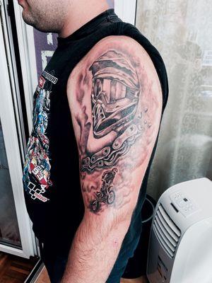 Tattoo# moto# dirt bike