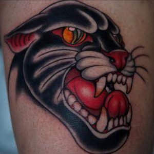 Drawn on panther!