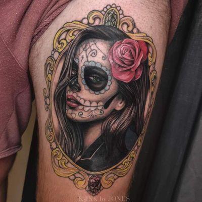 Lady muerte #sugarskull #ladymuerte #diadelosmuerte