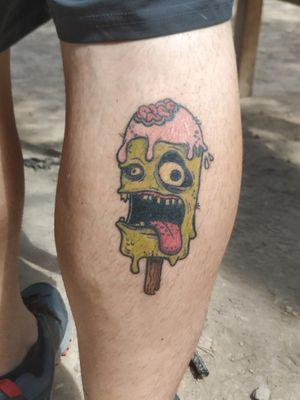 Helado Zombie (curado/healed) #tete #tattoo #ink