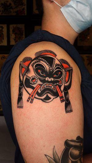 Tattoo by Red heart tattoo