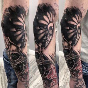 Tattoo based on my digital design.