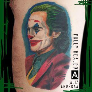 Joker tattoo Completely healed