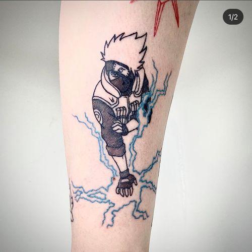 Naruto tattoo Kakashi