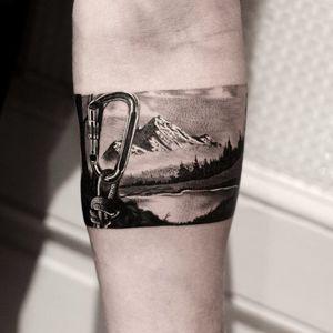 Landscape armband