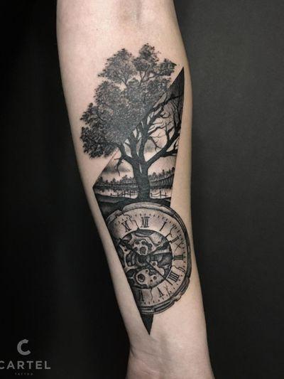 Made at Cartel Tattoo Odesa