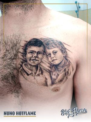 Tattoo by Hot Flame Tattoo
