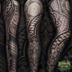 Geometric/Mandala Full Leg Sleeve