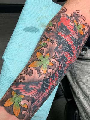 Tattoo from Evan Grover