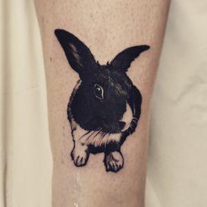 Cute #bunny #pettattoo