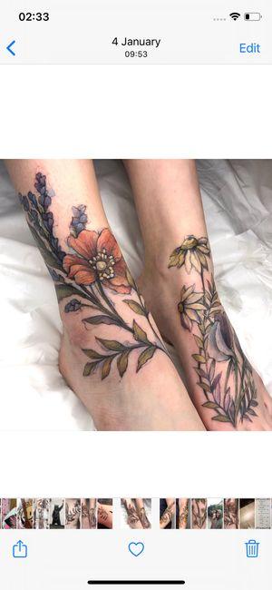 Tattoo from Hettie Baker