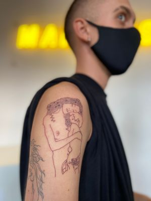 Die drei Lebensalter einer Frau - Gustav Klimt  Instagram @lukasemmanuel