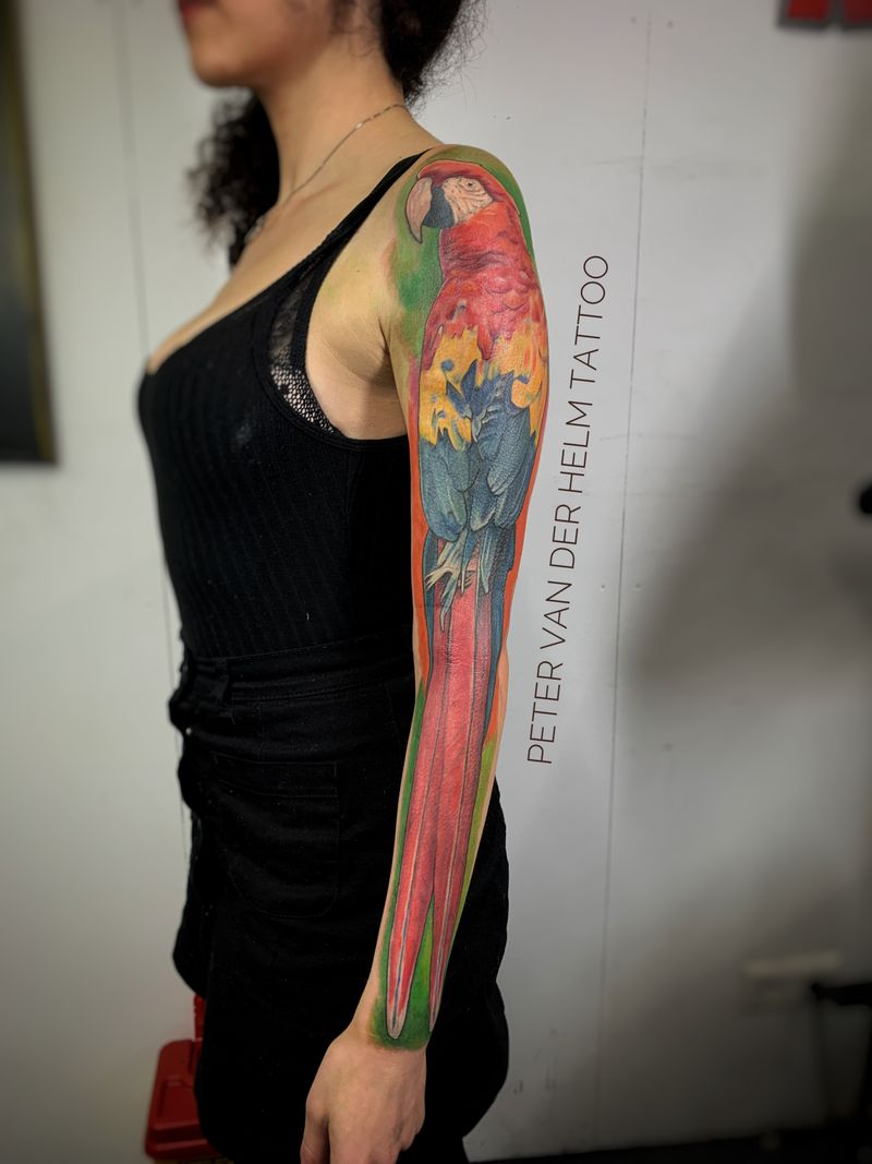Tattoo from Peter van der Helm