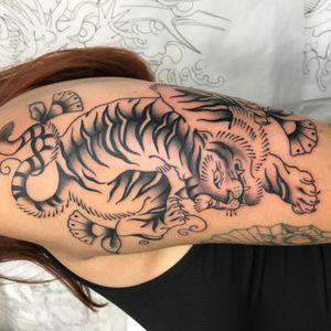 Tattoo from Tiger Titz