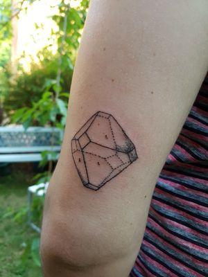 Decatetrahedron shape