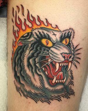 Tattoo from Manu Santana