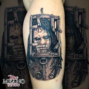 13 Ghosts horror tattoo
