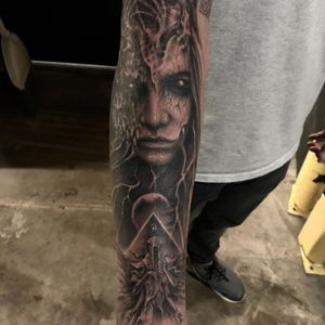 Tattoo from Keoni Church