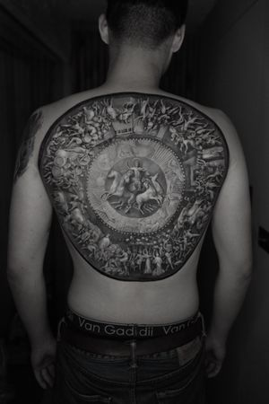 Tattoo from Josh Lin