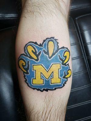 Michigan Wolverine Claw
