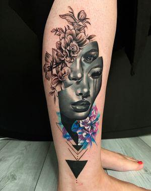 Custom #wip #ttism #ttt #tattoodesign #tattooidea #buddha #tattooage #tattooflash #enlightenment #universe #blxckink #surrealism #london #cooltattoos #blackandwhite #besttattoos #txttoo #londontattoo #bodyartmag #femaletattooartist #ttblackink #blackworker