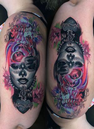 Dead of the dead ambigram #wip #ttism #ttt #tattoodesign #tattooidea #buddha #tattooage #tattooflash #enlightenment #universe #blxckink #surrealism #london #cooltattoos #blackandwhite #besttattoos #txttoo #londontattoo #bodyartmag #femaletattooartist #ttblackink #blackworker