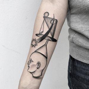 #totemica #buioOmega #tunguska #black #balance #madness #stone #head #tattoo #originalsintattooshop #verona #italy #blackclaw #blacktattooart #tattoolifemagazine #tattoodo