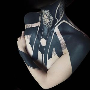 Follow my second tattoo page @tenebris_sanctuarii Different side of myself 😉 - Tattoo on @luneamour - @dynamiccolor @dark_ornaments @darkartists @girls.tattoos_ @tattooloveart @blackouttattoostyle @blackworkarchive @a_drop_of_black @blackworkerssubmission #girlswithtattoos #girl #tats #dynamiccolor #balckouttattoostyle #blacktattoo #tattoo #tattoos #heavyblackwork #breast #lineart #linedrawing #line #lineworktattoo #followme #follow #tattooartist #blackworkerssubmission @ Texas