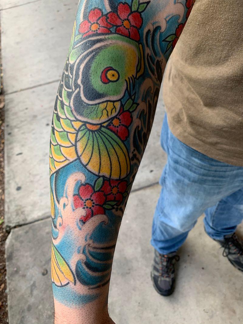 Tattoo from Ryan Went