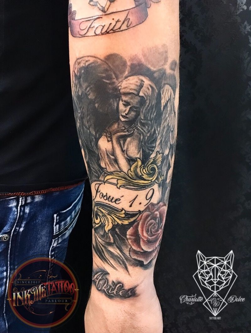 Tattoo from Charlotte Dolce