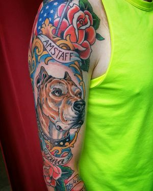 Dog tribute,Friends for life