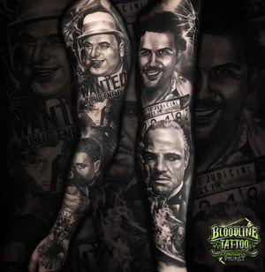Gangster Arm Sleeve