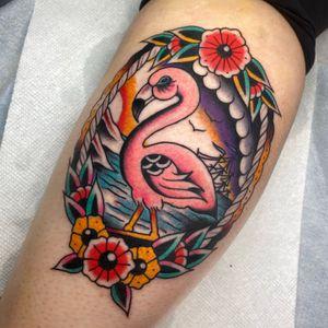 Fun flamingo!