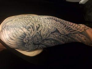 Phoenix Tattoo by Nathan Emery, San Francisco