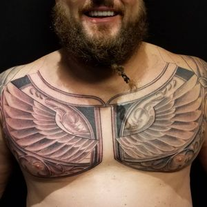 Wings of armor by Nathan Emery, San Francisco