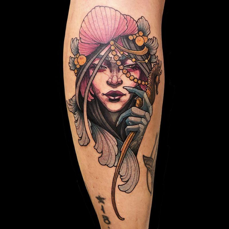 Tattoo from Daze Lee