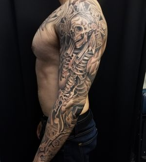 Aztec Ghost Warrior by Nathan Emery, San Francisco