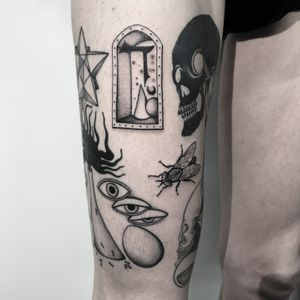 #totemica #buioOmega #tunguska #black #fly #door #daleth #filler #tattoo #originalsintattooshop #verona #italy #blackclaw #blacktattooart #tattoolifemagazine #tattoodo