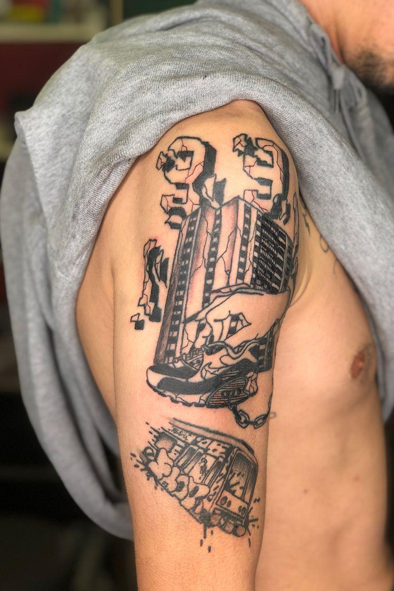 Tattoo from Notre jour viendra