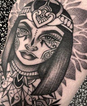 Cleopatra close up