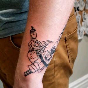 Samurai Jack!! So much fun doing this piece 😊 #nostalgia