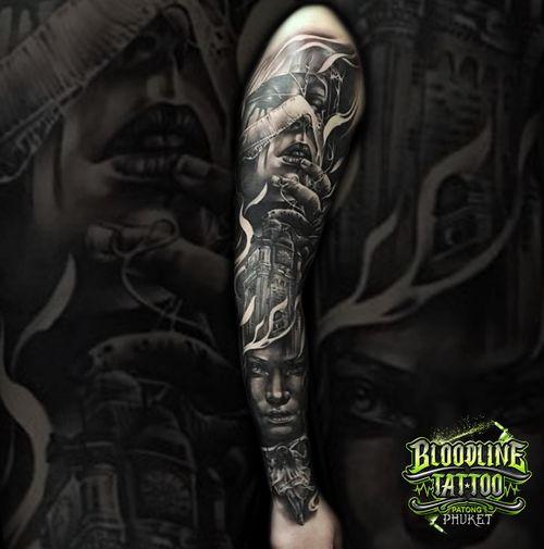 Realistic Arm Sleeve