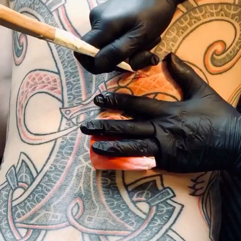 Tattoo from Hellen Lavrentieva