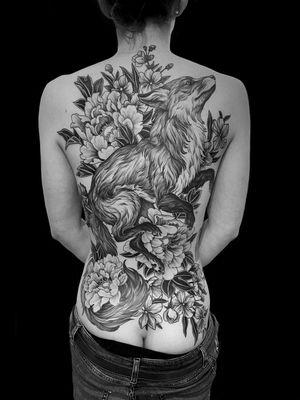 #fox #etching #etchingtattoo #engraving #engravingtattoo #gravure #tatouage #tattoo #blacktattoo #blackwork #blackworkers #blackworkers_tattoo #blackworkerssubmission  #blackandgreytattoo #art #arttattoo #mauddardeautatouages #mauddardeau #bordeaux #bordeauxtattoo